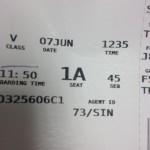 Yay Seat 1A!