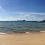 Nice panoramic! Almost a private beach!