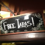 Free Tapas all night!