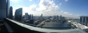 Great View from Level 33 Balcony