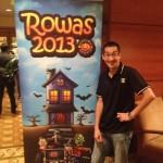 Aaron at ROWAS 2013