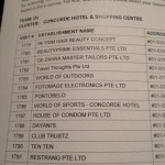 My Merchant visit list - some surprising locations