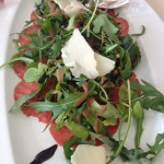 Carpaccio, Rocket and Parmesan Cheese Salad