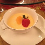 Chilled Kumquat Pudding