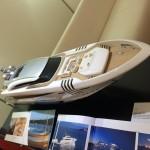 A model yacht