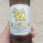 Singha Beer - Refreshing!