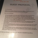 The Special Hotel Rules