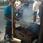 Street-side BBQ Food!