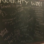 The Toilet Wall - haha!