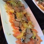 Salmon and Truffles