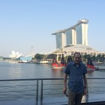 Marina Bay Tour with Dad