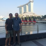 Dad and Me with the MBS Backdrop