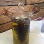 Olive and Oil and Balsamic Vinegar Bottle