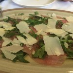 Carpaccio, Parmesan Cheese and Rocket Salad