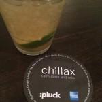 Chillax @ :Pluck