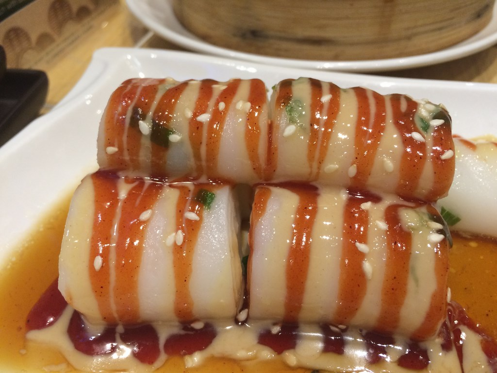 Vermicelli Roll with Sesame Sauce