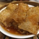 Beancurd Skin with Pork and Shrimp