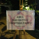 The Mad Hatter Christmas Party